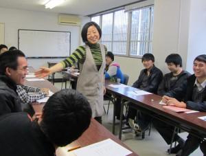 仁子(にご)の授業風景